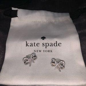 Kate Spade Bow Meets Girl earrings